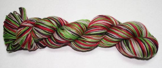 Farmer's Market Self Striping Hand Dyed Sock Yarn