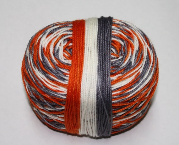 BB-8 Self Striping Hand Dyed Sock Yarn