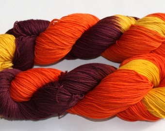 Changing Seasons Hand Dyed Sock Yarn