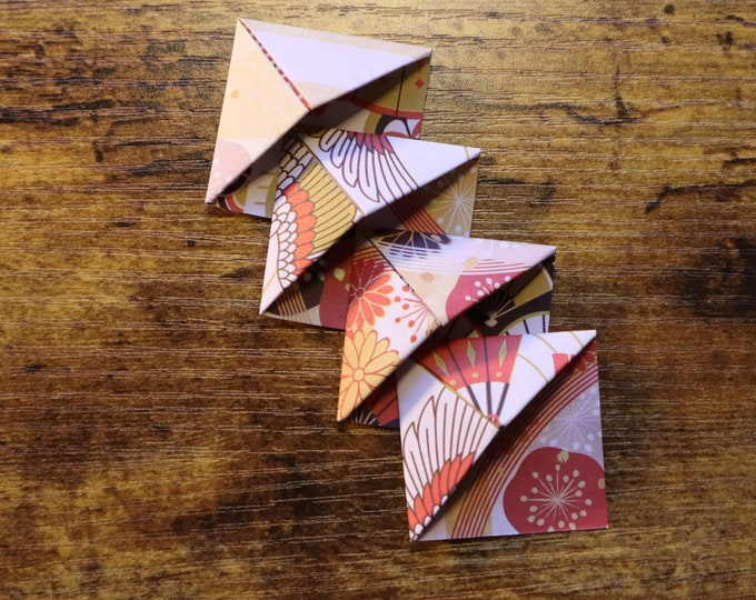 Mini Origami Corner Bookmarks