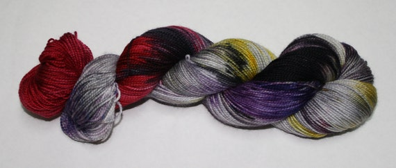 Let's Have a Mystery Hand Dyed Sock Yarn