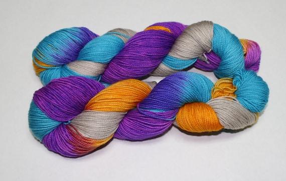 Wanderer Hand Dyed Sock Yarn