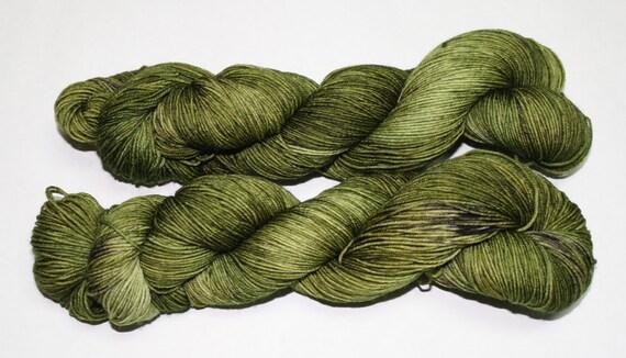 Ready to Ship - Mossy Grove Hand Dyed Sock Yarn - Soft Sock
