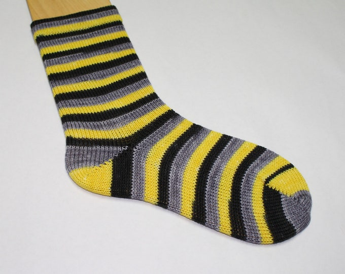 Dyed to Order - Batman Self - Striping Hand Dyed Sock Yarn