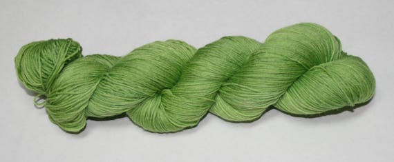 Ready to Ship - New Growth Hand Dyed Sock Yarn - Superwash Worsted