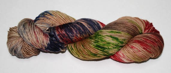 Ready to Ship - Debt of Honor Hand Dyed Sock Yarn - Bulky Merino