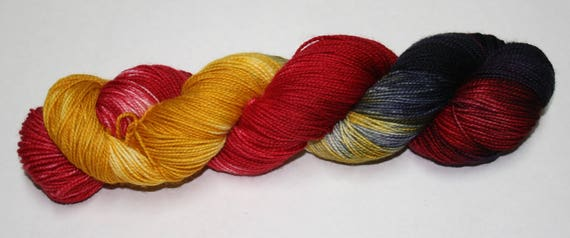 Ready to Ship - Murtagh's Vengeance Hand Dyed Sock Yarn - Twist Sock