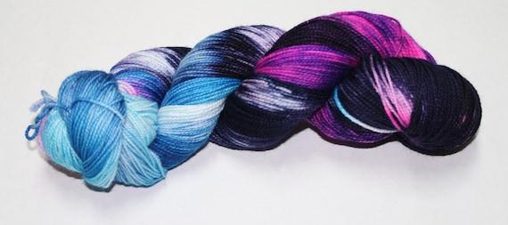 Time Vortex Hand Dyed Sock Yarn