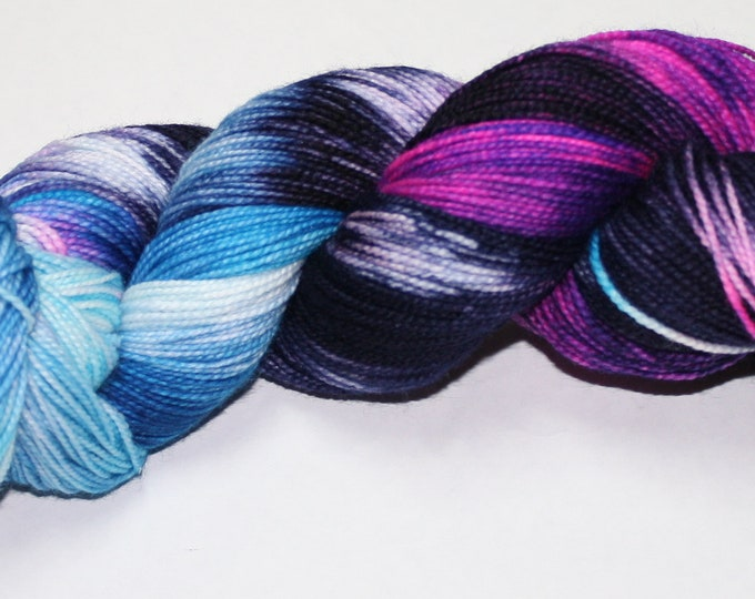 Dyed to Order - Time Vortex Hand Dyed Sock Yarn