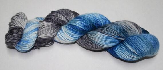 Ready to Ship - Fergus Hand Dyed Sock Yarn - Superwash Worsted