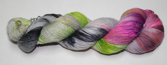 Witch's Brew Hand Dyed Sock Yarn