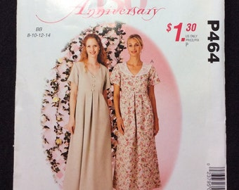 McCall's Easy Stitch 'N Save Misses' Dress Pattern P464 Size 8, 10 ,12, 14