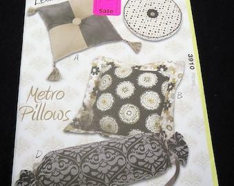 Kwik Sew Kwik Start Metro Pillow Learn To Sew Pattern 3910
