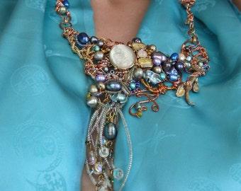 Liquid Copper Necklace