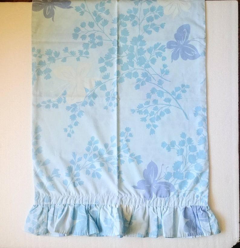 cotton florals light blue lavenders Canon butterflies 60s 70s pillowcases SET FOUR mix /& match pillowcases standard