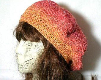 The Ellie Beret Crochet Pattern PDF  - permission to sell what you make on all my patterns