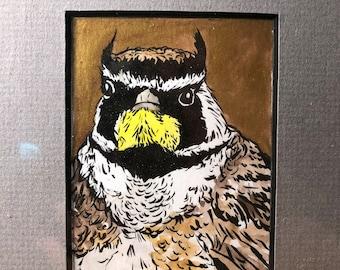 Grumpy Golden Lark