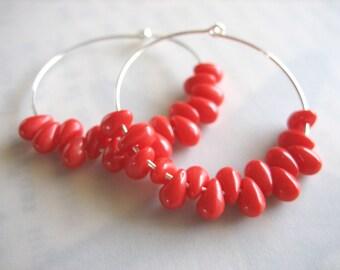 Roe Hoop Earrings