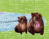 Bear Stare-Original Painting