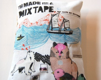 You Made Me A Mixtape Lavender Bag