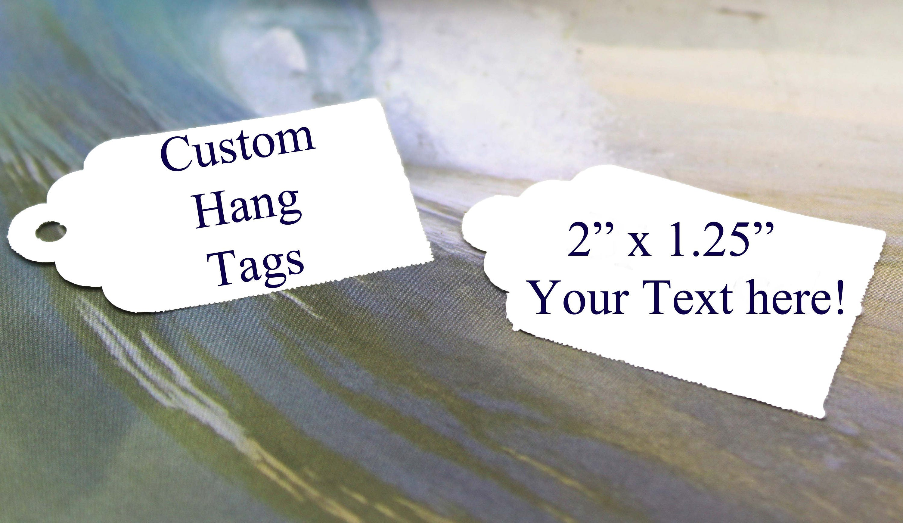 Custom Hang Tags Wedding Favor Tags Baby Shower Gift Tags