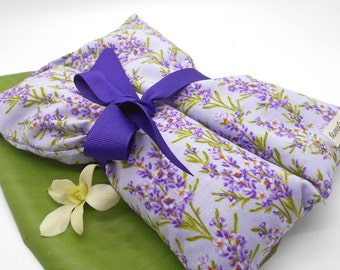 Lavender Heat Pack, Lavender Flower Print  - Muscles, Shoulder, Hot Pack, Heat Pack, Cold Pack, Sports, Neck, Pain, Lavender Flowers