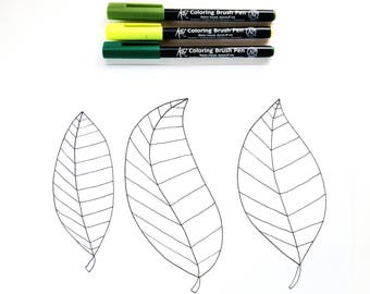 Coloring Sheet for Kids and Adults, Nature Coloring Sheet, DIY Coloring Book Page, Adult Coloring Book DIGITAL DOWNLOAD