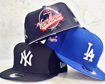 hot sales a0e47 e557f Bling Bling Customized New York Yankees New Era MLB Vintage 9FIFTY Snapback  Cap With Swarovski Crystals