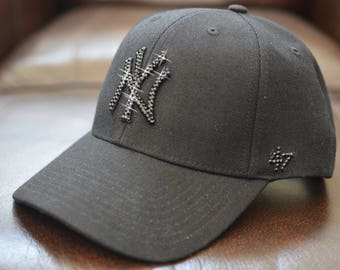 a293862352a ... czech bling bling customized new york yankees cap with swarovski  crystals 3cb89 874b9