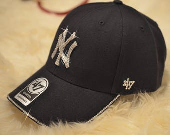 4241b3752d27a clearance new york yankees bling hat 50s a8c0f 0742d