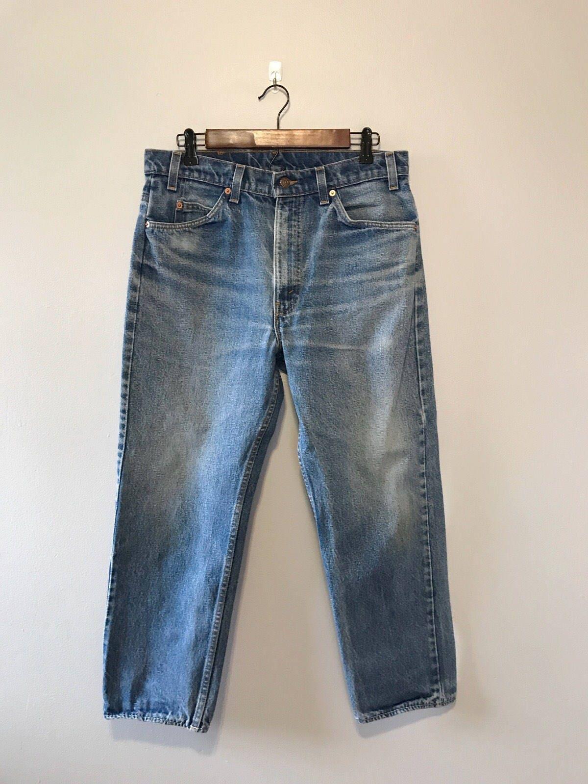 Orange tag levi jeans