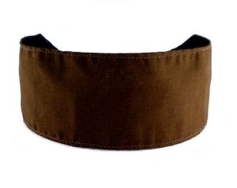Bargain Headband, Chocolate Brown, Cocoa Solid Beautiful and Elegant Headband