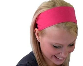 Hot Pink Perfect Summer Inspiration Super Cute Wide Headband By Bargain Headbands