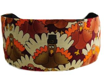 Bargain Headbands, Turkey Day Thanksgiving Fall Super Cute Soft Holiday Headband