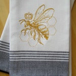Queen Bee Kitchen Towel