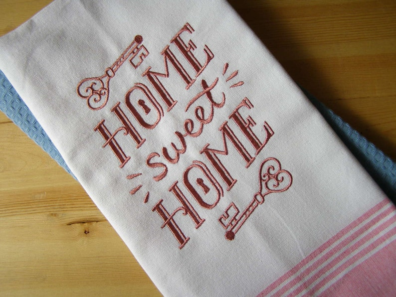 Home Sweet Home Chalkboard Kitchen Towel image 0