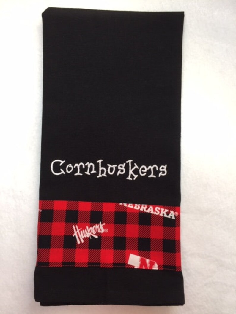Cornhuskers Style 2 Kitchen Towel image 0