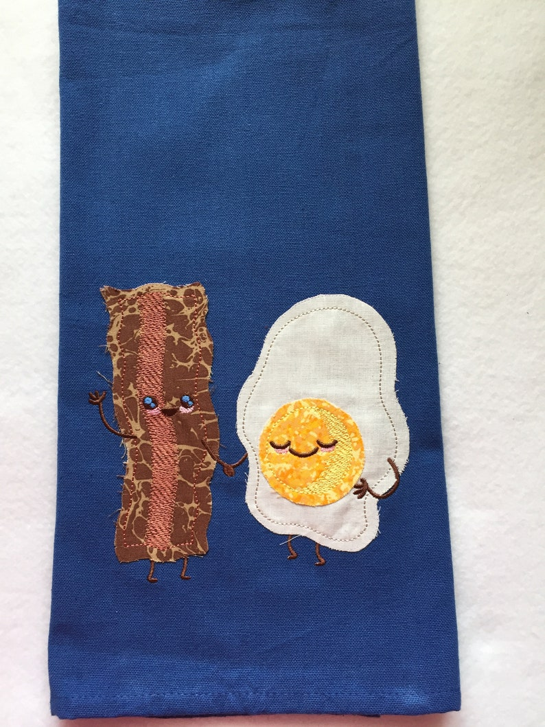 Bacon and Egg Kitchen Towel image 0