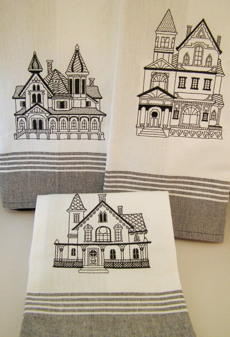 Towel Set Victorian House image 0