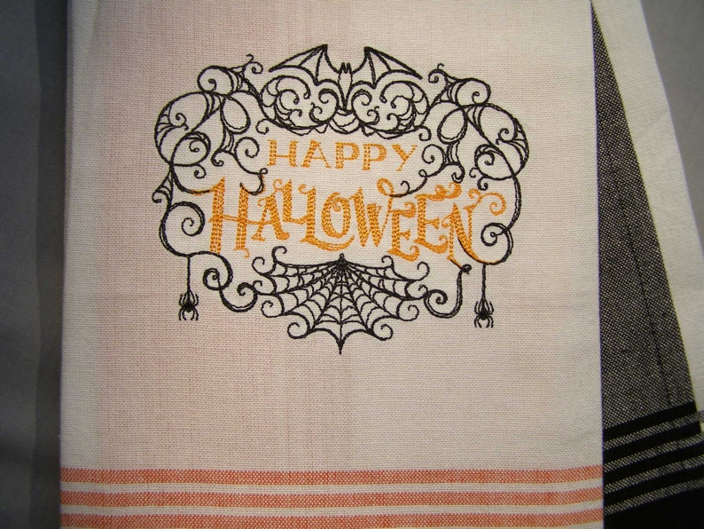 Happy Halloween Kitchen Towel image 0