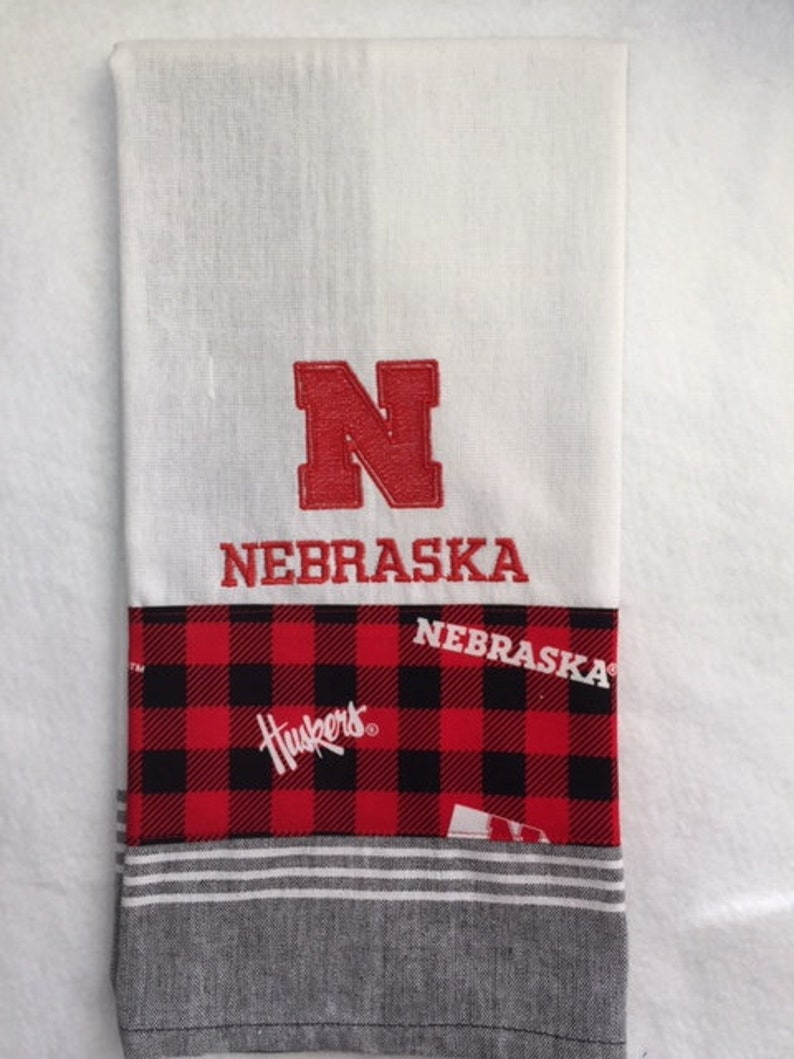 Nebraska N Kitchen Towel image 0
