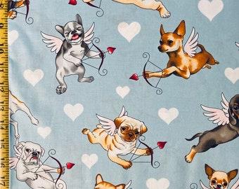 XO Clothworks Puppy Love Heart 100/% Cotton
