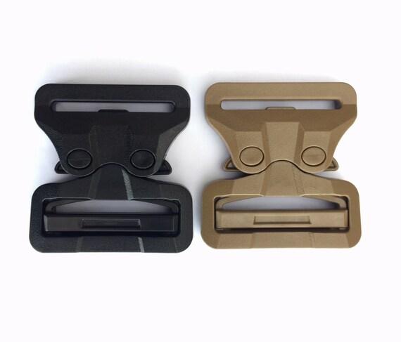 "ITW Black GT Cobra Male fixed 50mm Plastic Buckle 2/"" FG50MMF AustriAlpin"