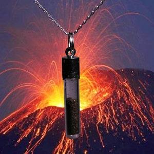 9043  Compressed Volcanic Ash Cabochon  33 x 23 x 5 mm
