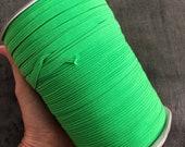 6mm Flat Elastic tape, 200 yard roll. Stretch sewing elastic for seeing, hair ties.