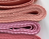 3/4 inch Cotton Grosgrain Tape, Sold by the yard.  Over 200 colour choices