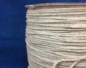 Soft jute and cotton mix STRING twine / FREE SHIPPING / different widths available