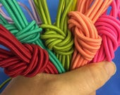3mm Nylon elastic bungee cord, nylon shock cord Drawcord in over 200 colours, round stretch rope cord, whole spool, 144 yards