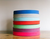 """1.5"""" cotton twill tape, 50 yard roll, herringbone cotton tape, 38mm, over 200 colour choices"""