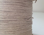 20 yards of  soft jute and cotton mix string.  brown paper packaging / soft twine / divine twine